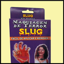 Slug Kit Do Terror - Maquiagem Para Halloween Festas Teatro