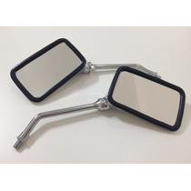 Par Espelho Retrovisor Cbx200 Strada/ Twister Cromado - Awa