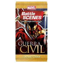 Booster Pack - Marvel: Battle Scenes Guerra Civil C/7 Cartas