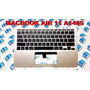Topcase Teclado Backlight Macbook Air 11 A1465 2013 2014