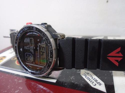 847c59014be Relógio Citizen Windsurf D060 085491 Black Coleção Anos 80 R 400 ...