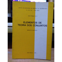 Elementos De Teoria Dos Conjuntos Benedito Castrucci