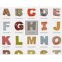 Letras E Numeros 3d + Brindes Silhouette Cameo Alfabeto 3d