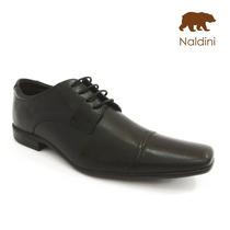 Sapato Social Em Couro Legítimo - Naldini - Nt6000