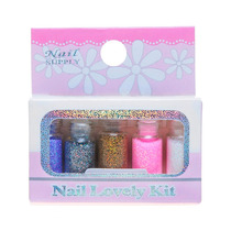 Kit 5 Mini Garrafinhas Glitter