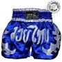 Shorts Muay Thai - Azul Mma Brazuca