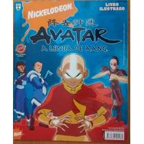 Álbum Figurinha Abril Avatar A Lenda De Aang 2008