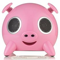 Caixa De Som Portátil Dock Speaker Ipig Pig Touch Usb Sd