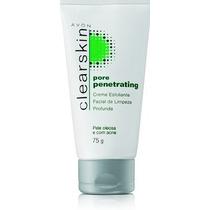Avon Clearskin Creme Esfoliante Facial De Limpeza Profunda