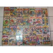 Coleção Revista Heróis Da Tv Marvel Editora Abril