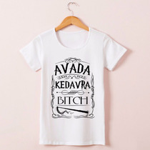 Camiseta Baby Look Avata Kedavra