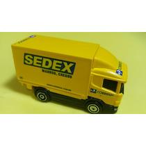 Caminhão Dos Correios.único Do Ml.guisval Truck Esc.1.64..