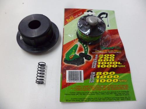 Refil Trapp Master/super Turbo 800/1000 Tampa Carretel Mola