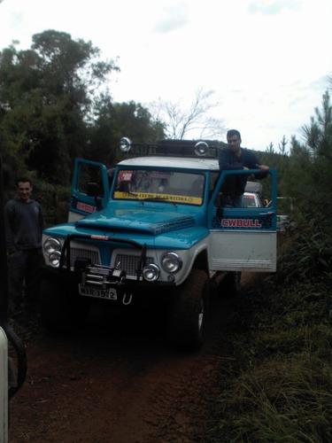 RURAL FORD 4X4 REDUZIDA COMPLETA PARA TRILHA