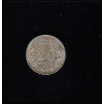 Moeda Mexico 20 Centavos 1941 -m- Prata