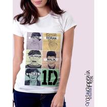 Blusa Babylook One Direction (várias Estampas) 1d - Feminina