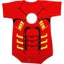 Body Super Heroi Homem De Ferro Iron Man Marvel