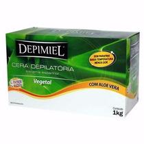 Cera Depilatória Verde Depimiel - Kit 6 Kg Caixa Fechada