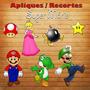 Aplique / Recorte - Super Mario Bros