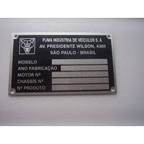 Tarjeta Da Carroceria, Cofre, Puma 77 Em Diante ( 4385)