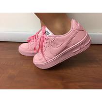Promoção! Tenis Nike Infantil Air Force Cano Baixo Mas / Fem