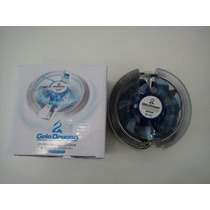 Cooler P/ Intel E Amd Universal Led Azul Gelo Dragon Cp-m35!