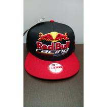 Bone Aba Reta A Pronta Entrega New Era Red Bull
