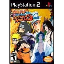 Patch Jogo Ps2 Naruto 4 Frete Grátis