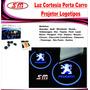 Luz De Cortesia Projetor Logomarca Peugeot 306 307 308 3008