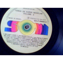Temas De Super Novelas Vol. 2 1976 - Lp Vinil