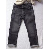 Calça Jeans Squash Infantil Menino Preta Have Fun Hf0147