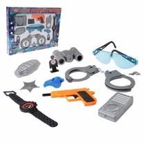 Kit Brinquedo Policial Infantil Força Tática Rota Bope
