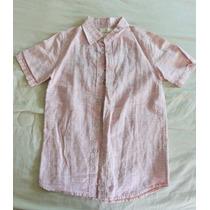 Camisa Social Infantil Menino Tam 7 / 8 Zara Nova