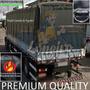 Lona Para Caminhão Truck Anti-chama Vinil Emborrachada 8x5 M