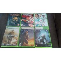 6 Jogos Originais Xbox 360 - Sem Juros - Frete Grátis