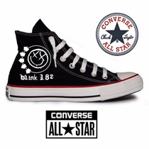All Star Blink 182 Converse Tênis Banda Rock Personalizado