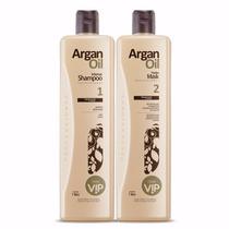 Nova Escova Vip Argan Oil - Embalagem Quadrada