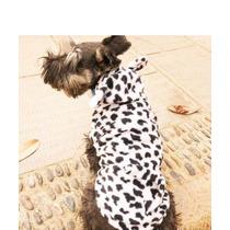 Roupa Casaco Fantasia Onça Para Cães De Pequeno Porte Tm M