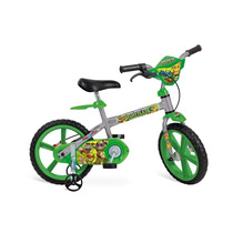 Bicicleta Aro 14 Tartarugas Ninja - Brinquedos Bandeirante