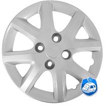 Calota Ajuste Ford Modelos Aro13 Cor Prata 4 159