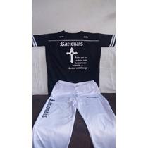 Racionais - Conjunto - Calça + Camiseta