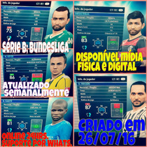 Patch Pes 2016 Com Brasileirao Atualizado E Bundesliga E Mls
