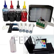 Bulk Ink Xp214 Xp204 Xp401 Xp411 Chip Atualizado + Tintas