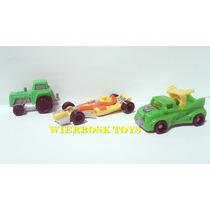 Coleção Kinder Ovo Ferrero 3 Veiculos Trator Caminhão F1