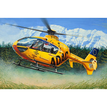 Modelo Do Helicóptero - Revell Ec 135 Adac Easy Kit Aviões