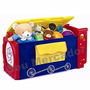 Baú Organizador De Brinquedo Livro Infantil P Quarto Criança