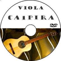 Curso Viola Caipira Completo 5 Dvds Video Aulas+ Apostilas