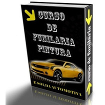 8 Dvds Funilaria, Pintura, Repintura, Solda Em Carro E Moto