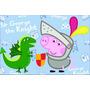 Banner De Festa George Pig Painel 100x150 Cm Peppa