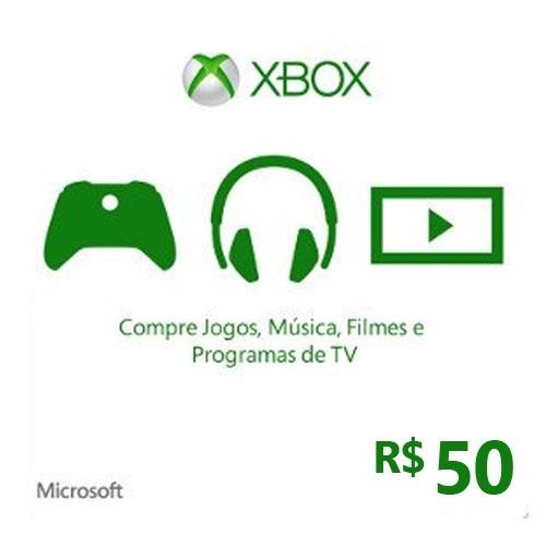 Cartão Xbox Live -